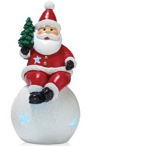 3/$10 NIB Avon Holly Jolly Mini Light Up Santa